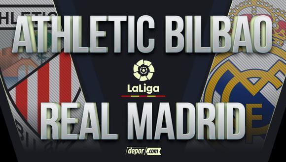 Real Madrid vs. Athletic Bilbao EN VIVO en DIRECTV: partido de hoy por LaLiga