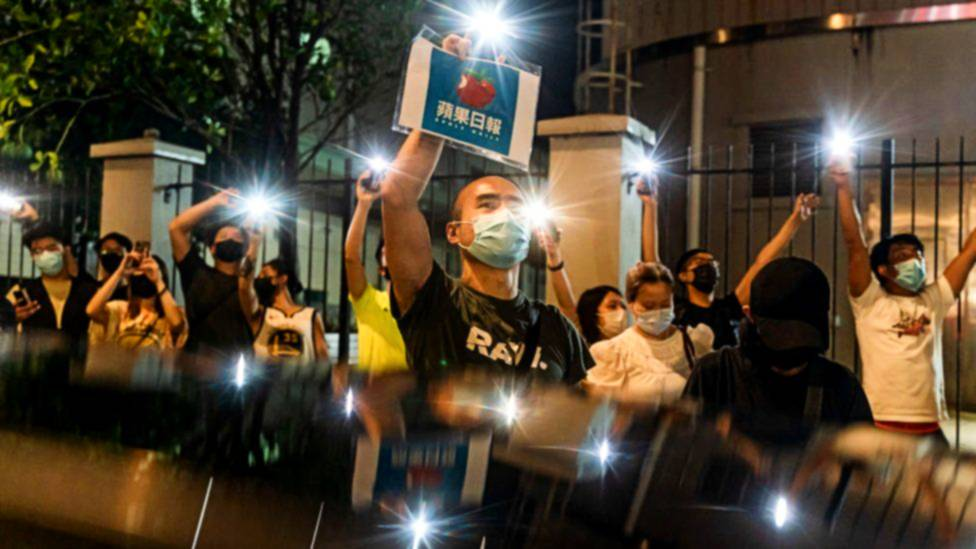Apple Daily:pro-democracy paper