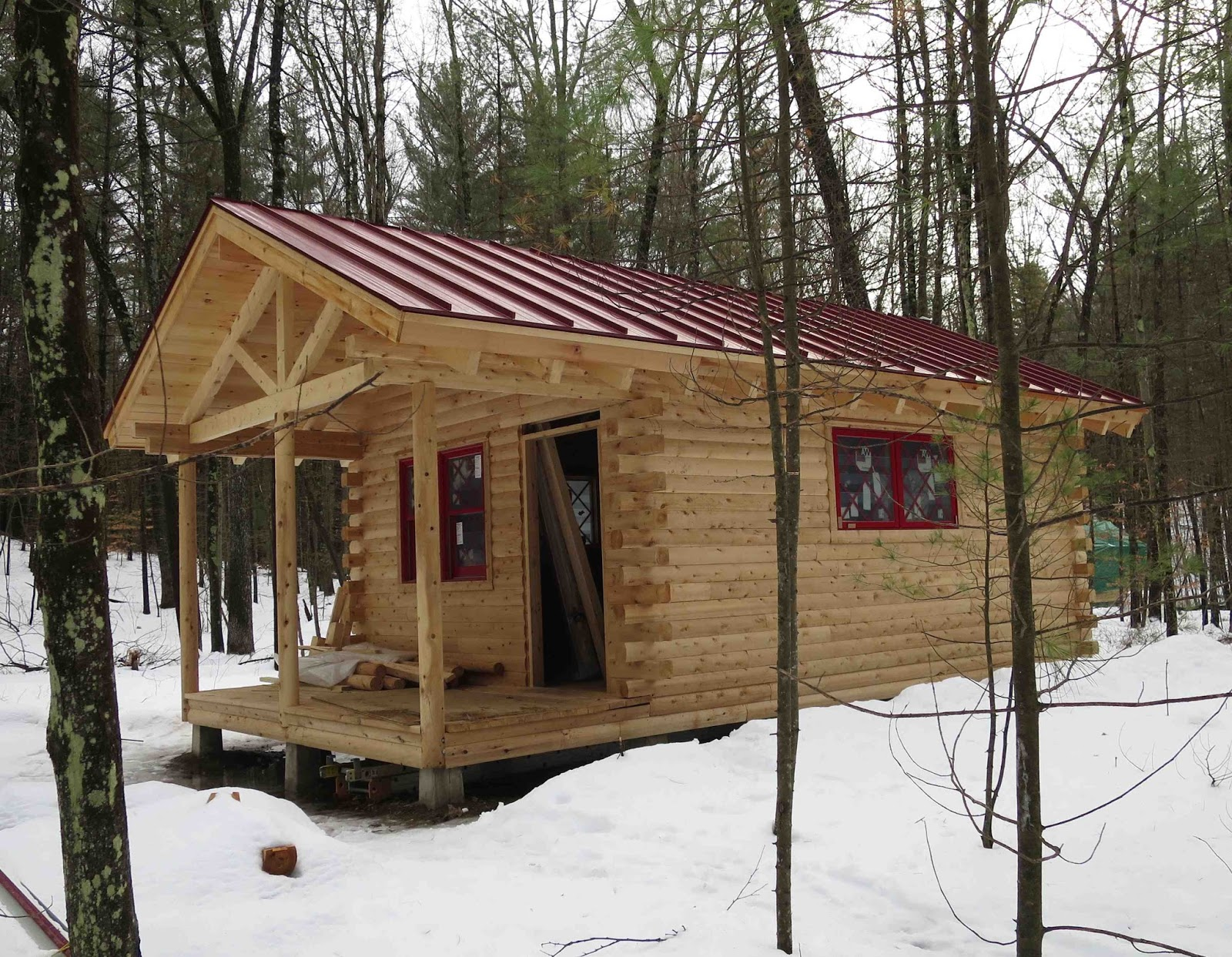 All Of The Cabins Will Be Furnished With Electricity Refrigerators Wood Stoves And Comfortable Furniture Including Rustic Arm Chairs Beds