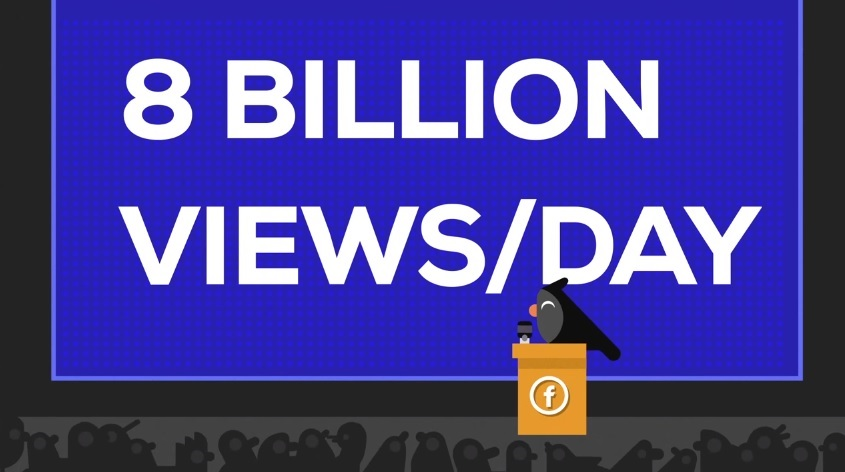 Design Studio Kurzgesagt Creates An Animated Video Explaining How Facebook is Stealing Billions of Views