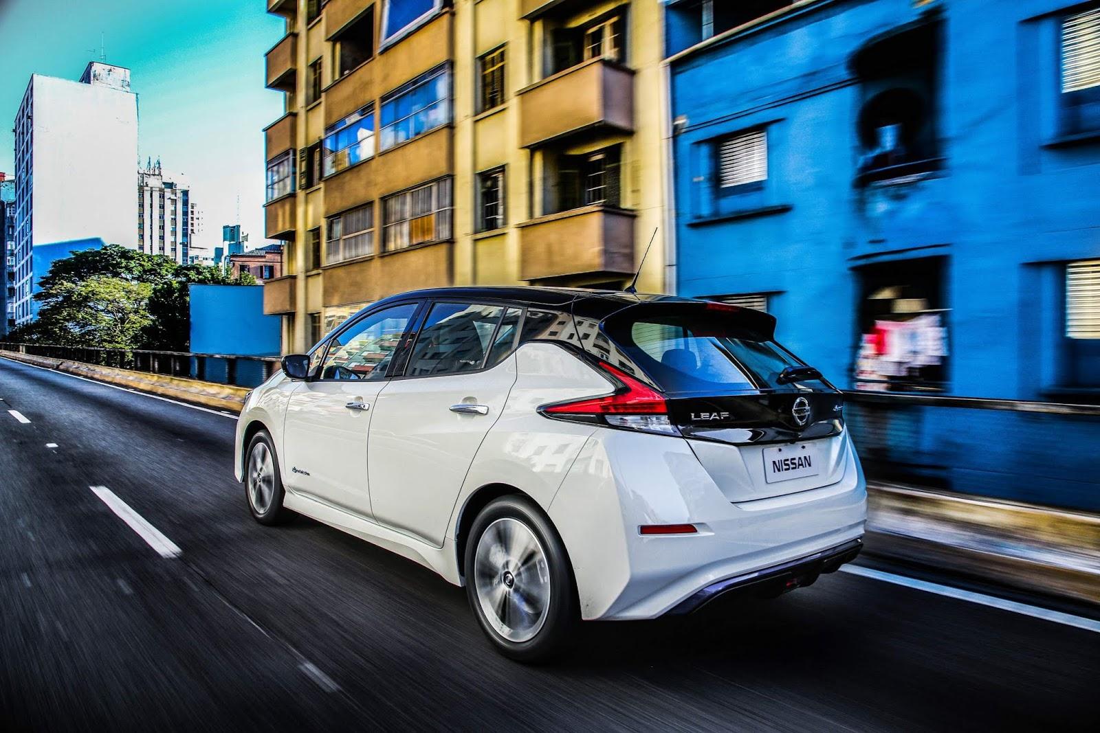 Nissan leaf 2020 autonomia