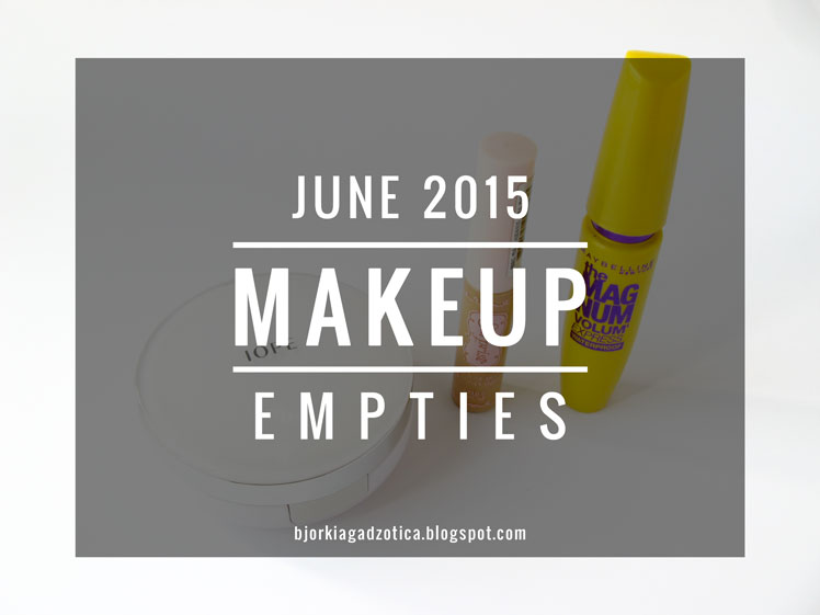 Makeup Empties