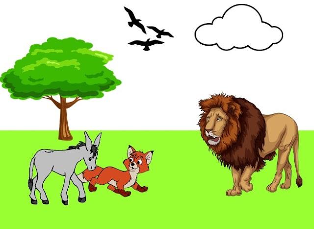 นิทานอีสป เรื่อง สุนัขจิ้งจอกกับลา (A Fox and A Donkey)