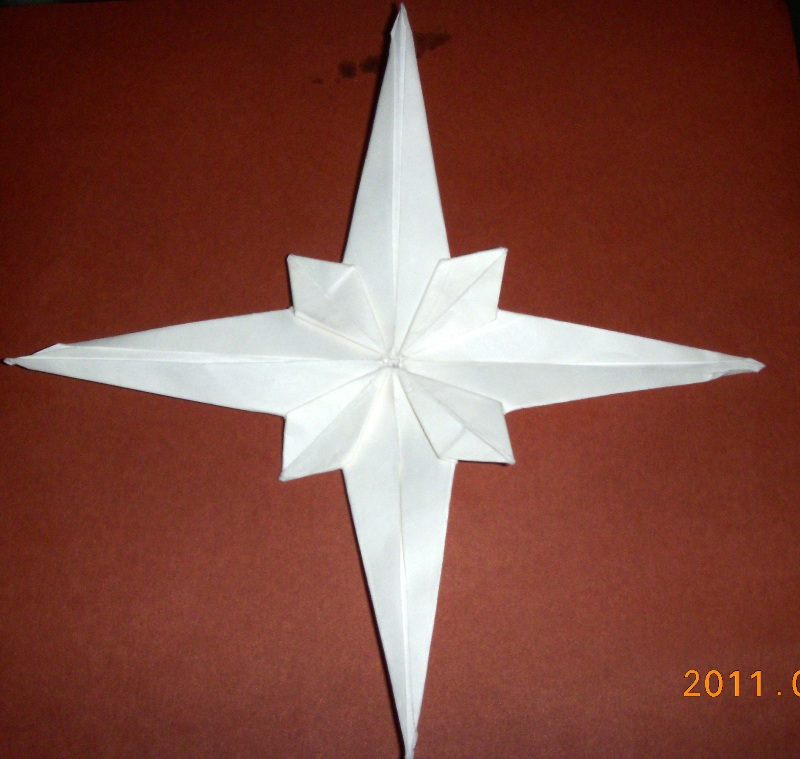 Origami Origami Star By Jared Needle