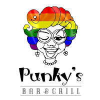 Punky's Bar and Grill in St. Petersburg, Florida owned by local residents Lara Shelton, Lynn Deibert, John Burt, and Brian Longstreth is a laid back friendly vibe burger joint with a large bar that extends into the dining room where live bands can set-up or other activities can take place