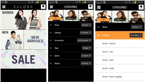 Zalora Resmi Luncurkan Mobile Aplikasi Untuk Android