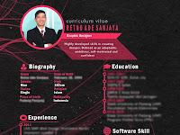 Download CV Menarik dan Disukai HRD, unduh cv bisa diedit kembali