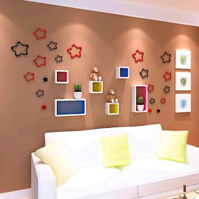Cekli.net - 13 Wall Hanging Decoration Ideas -  For Living Room Design