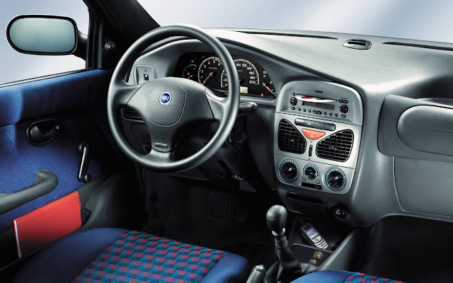 Fiat Palio 2001 - painel