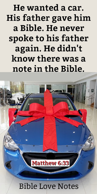 This fascinating story has a powerful impact on the way we live our lives. Don't miss reading it. #BibleLoveNotes #Bible