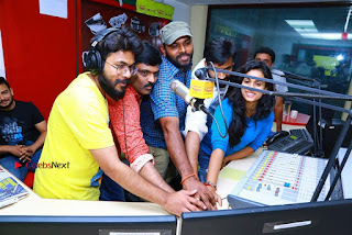 Sanjeev Chetana Uttej at Pichiga Nachav Song Launch at Radio Mirchi Pos  0024.jpg