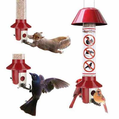 Roamwild PestOff Red Cardinal Bird Feeder