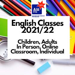English Courses 2021/22
