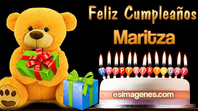 Feliz Cumpleaños Maritza
