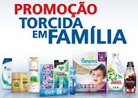 Promoção Torcida em Família P&G e Extra www.descubrapg.com.br/torcidaemfamilia