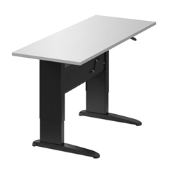 hand crank sit to stand table
