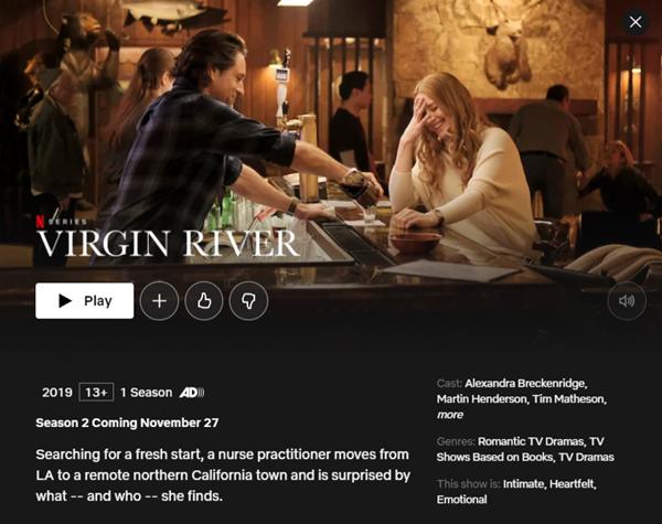 Virgin River - Season 2 | 27 November 2020