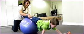 Using a Large Therapy Ball