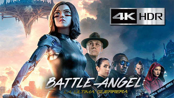 Battle Angel: La última guerrera (2019) Web-DL 4K UHD [HDR] Latino-Ingles