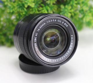 Lensa Fujifilm 16-50mm OIS II Bekas