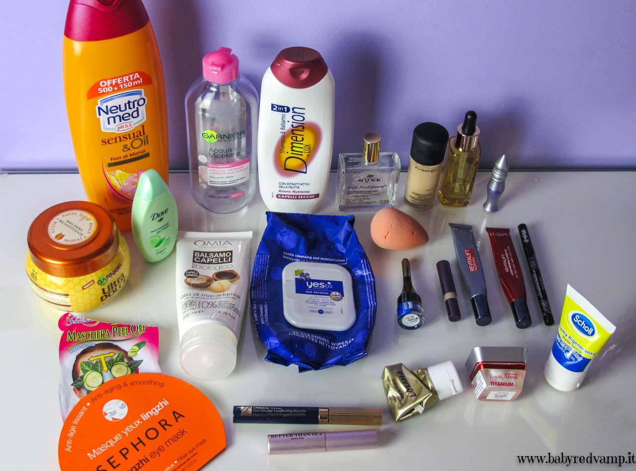 Bagno Neutromed : Babyredvamp makeup: prodotti finiti in un imprecisato periodo