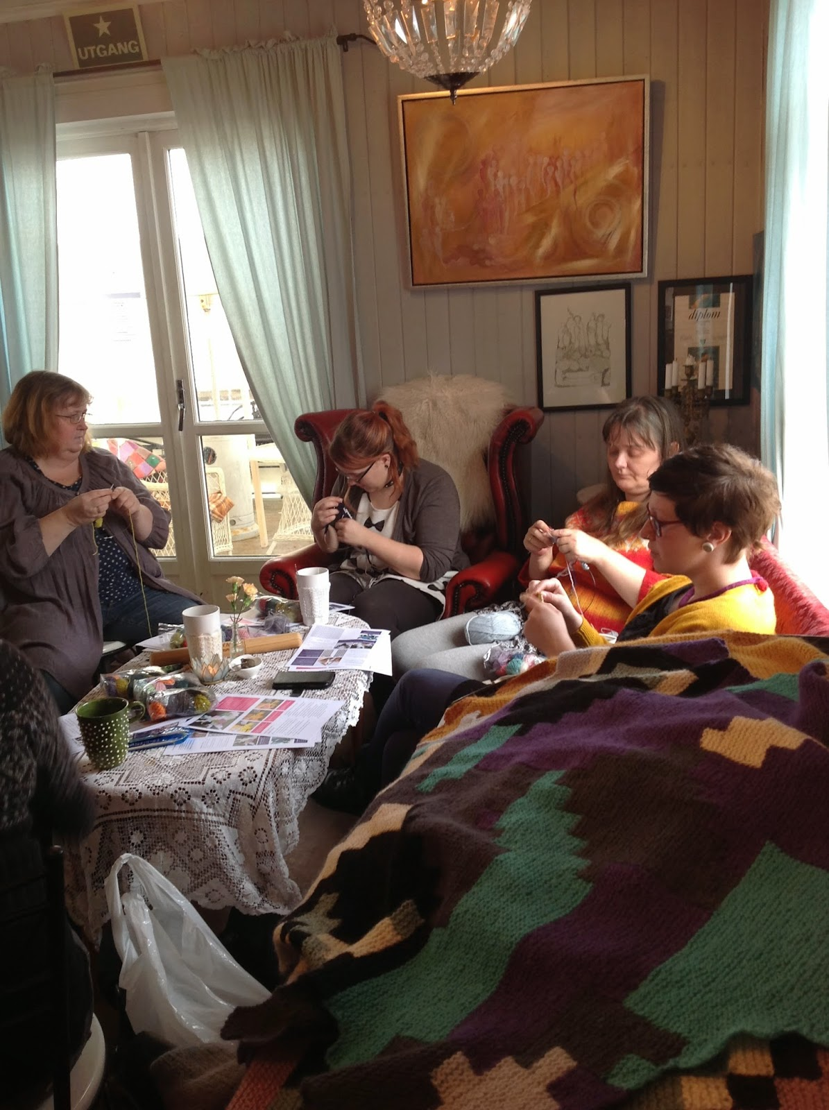 Graphical Intarsia workshop with Charlotte Kaae