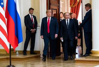 Poetin en Trump vs The New World Order: The Final Battle