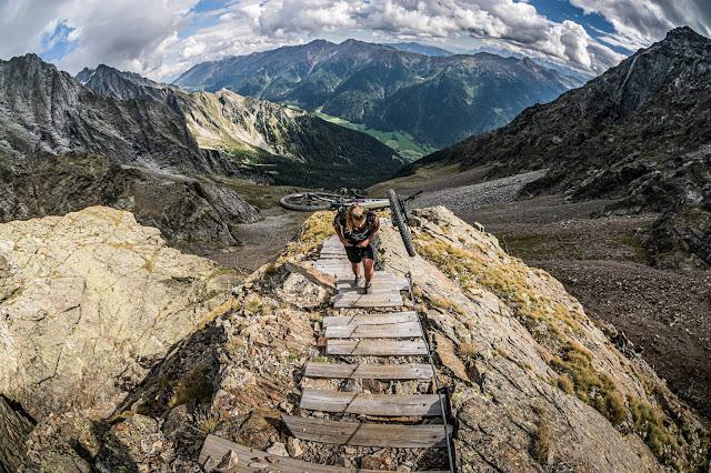 MTB-Tour: Rieserfernerhütte 2792 m.ü.A. Mountainbike