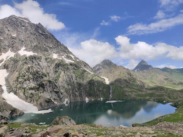 How To Do Kashmir Great Lakes Trek gadsar lake