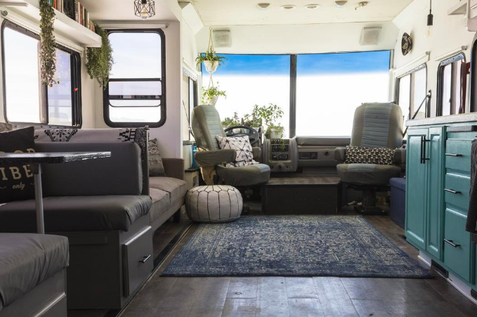 update RV interior