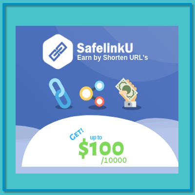 SafelinkU Cara Mudah Monetisasi Link URL