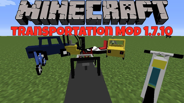 SoggyMustache's Transportation Mod for Minecraft