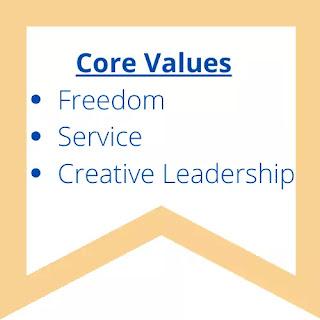 Core values of Design Stripes