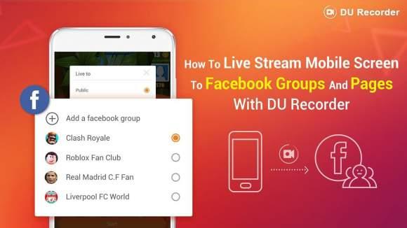 best screen recorder - DU recorder app