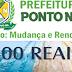"""PONTO NOVO: PREFEITO THIAGO GILLENO CRIA """"BOLSA DE ESTUDOS DE R$ 500,00 PARA ESTUDANTES DE BAIXA RENDA"""""""