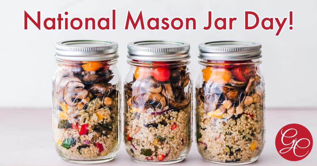 National Mason Jar Day Wishes Lovely Pics