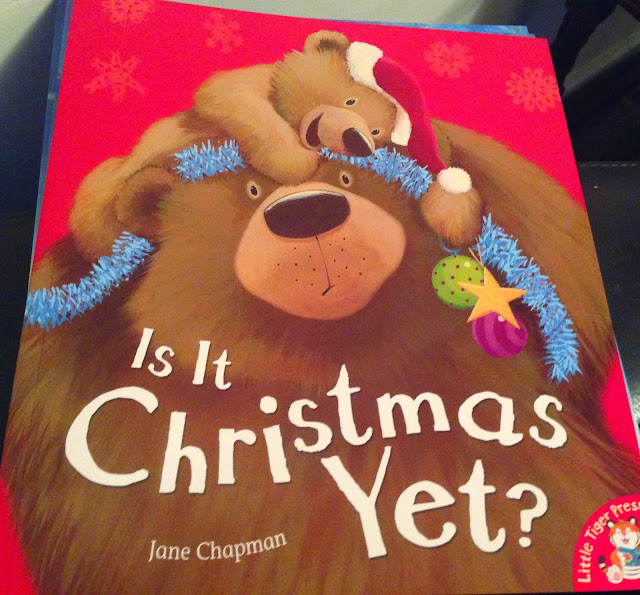 Our Christmas Book Advent tree   Ideas for the Best Children's Books to Buy this Christmas - is it Christmas yet?