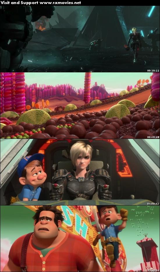 Wreck It Ralph 2012 Dual Audio Hindi 720p BluRay