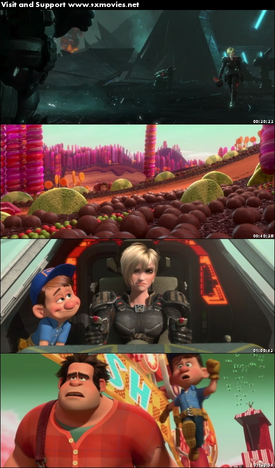 Wreck It Ralph 2012 Dual Audio Hindi 480p BluRay