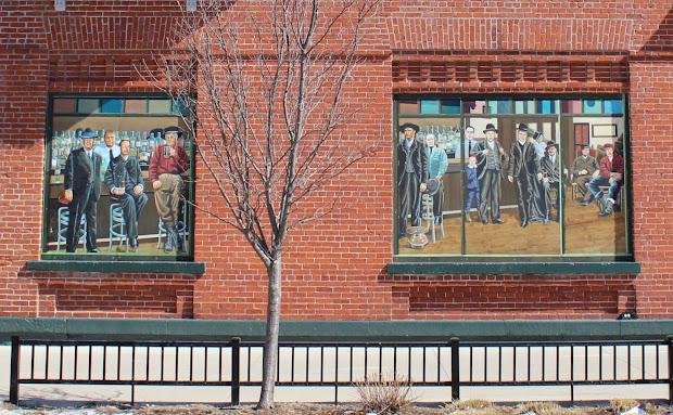 Mural in Stevens Point Wisconsin