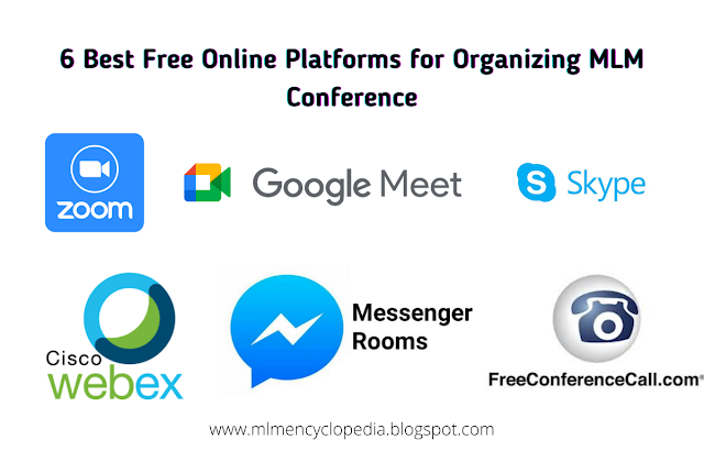 6 Best Free Online Platforms for Organizing MLM Conference or Network Marketing Meeting