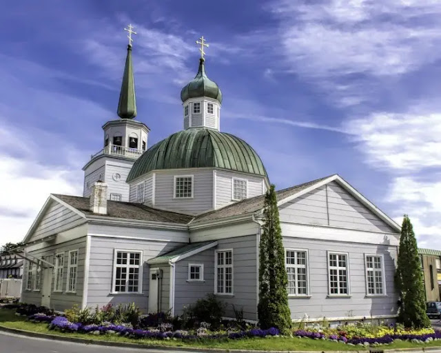 St. Michael's Cathedral in Sitka, Alaska