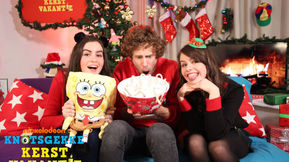 Nickelodeon Christmas Specials.Nickalive Nickelodeon Netherlands Wishes Viewers A Crazy