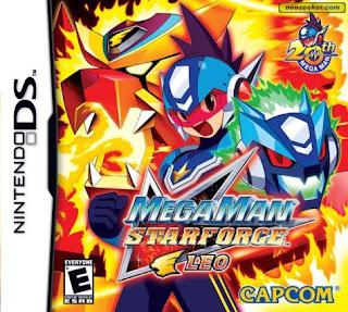 Megaman Star Force: Leo, nds, español, mega