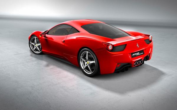 Ferrari Rouge Sexy - Fond d'Écran en HD