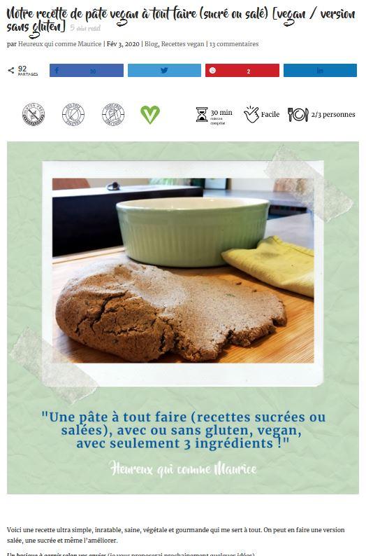 https://heureuxquicommemaurice.fr/recette-pate-vegan-sucree-salee-sans-gluten/