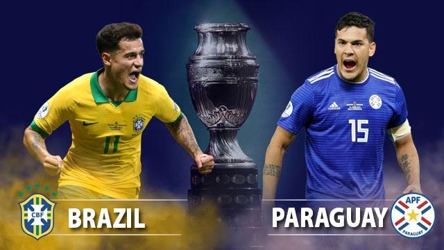 مشاهدة مباراة البرازيل و باراجواي 28-06-2019 كوبا أمريكا