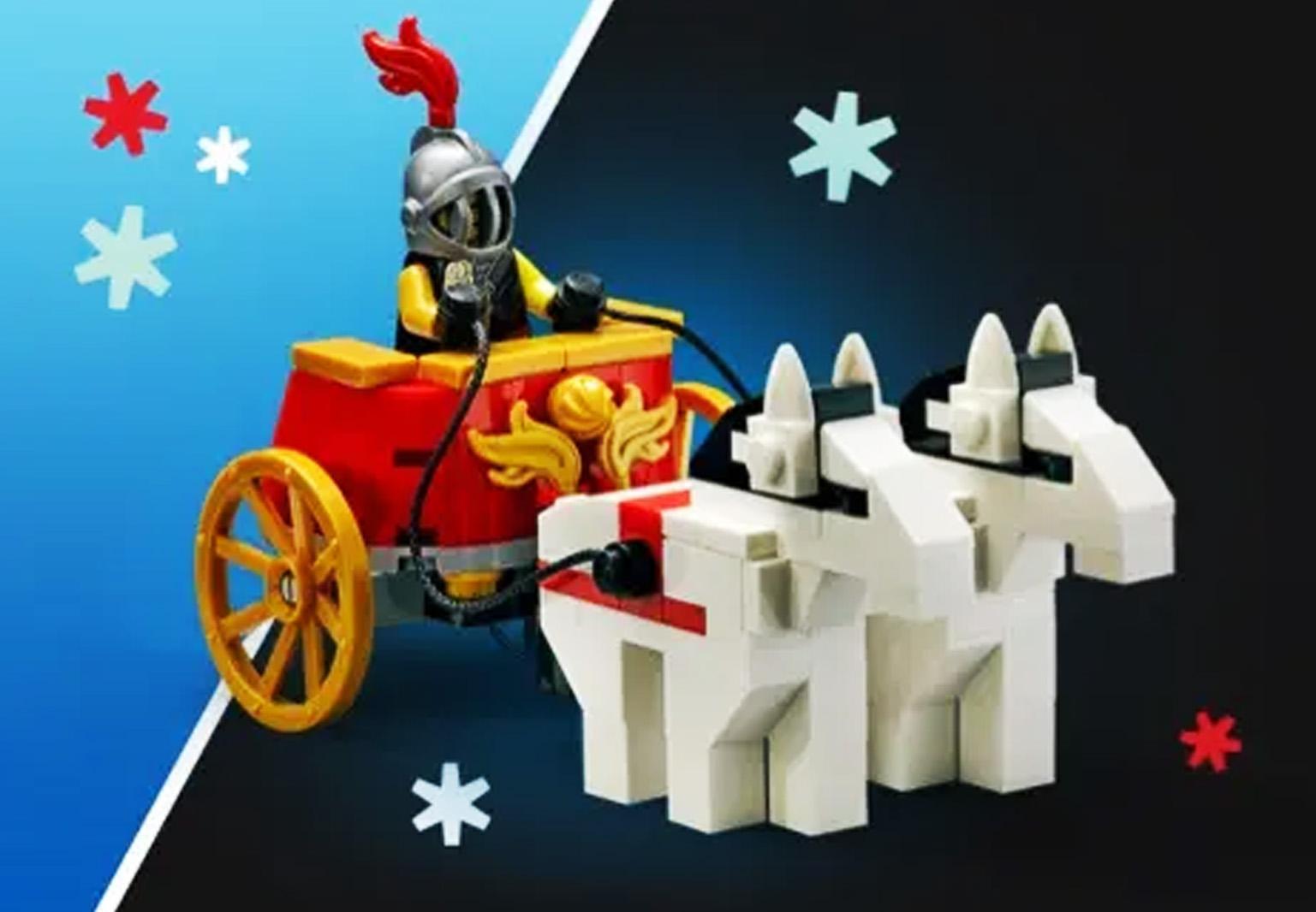 海外レゴ公式でローマ帝国のチャリオットをコロッセオ購入者プレゼントとして配布(2020)