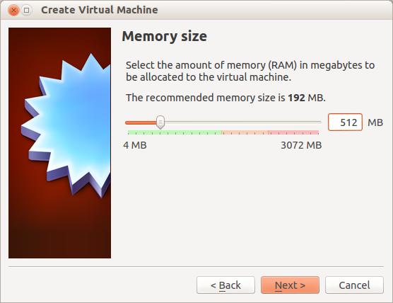 Activamos capacidad de memoria del OS guest de virtualbox