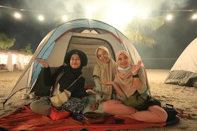 Camping Pantai Vio Vio Cantik